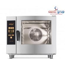 Cuptor gaz combi steam 7 tavi GN 1/1 cu injectie - Orange Vision