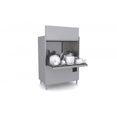 Mașină de spălat oale, gama Domina Plus, coș 13200x700 mm
