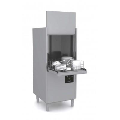 Mașină de spălat oale, gama Domina Plus, coș 550x610 mm, înălțime intrare 650 mm