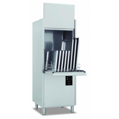 Mașină de spălat oale, gama Domina Plus, coș 550x610 mm, înălțime intrare 850 mm