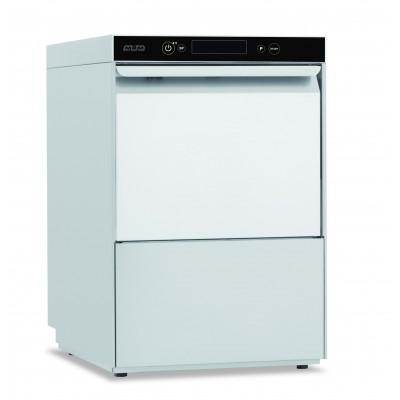 Mașină de spălat pahare, gama Domina Evo 7, coș 400x400 mm, pompe clătire și evacuare, cu dedurizator