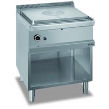 Mașină de gătit cu plită integrală 9 kW, suport deschis, alimentare gaz, seria Magistra 700