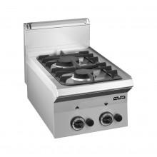 Mașină de gătit de banc, 3.5+6 kW arzătoare, alimentare gaz, seria Smart 650