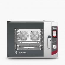Cuptor pentru patiserie capacitate 4 tavi 600x400 sau GN 1/1 alimentare electrica gama SQUERO TOUCH