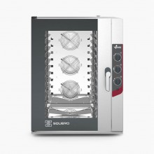 Cuptor pentru patiserie capacitate 10 tavi 600x400 sau GN 1/1 alimentare electrica gama SQUERO MANUAL