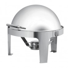 Chafing dish capac rolltop Gastronorm GN1/1, inox,
