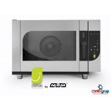 Cuptor Chefmate electric, 6 tavi GN 1/1, injectie pe abur, spălare automată inclusă