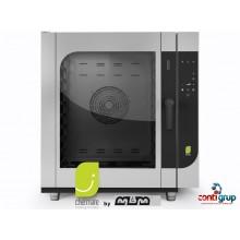 Cuptor Chefmate gaz 10 tavi GN 1/1, injectie pe abur, spălare automată inclusă
