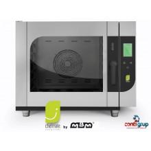 Cuptor Chefmate gaz touch, 6 tavi GN 1/1, injectie pe abur, spălare automată inclusă