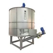 Container pentru depozitare fulgi de gheață, model SS 2544, stocare 25000 kg