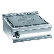 Mașină de gătit cu plită integrală 9 kW, de banc, alimentare gaz, seria Domina 700