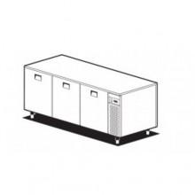 Bază refrigerare 3 uși, TBP/20