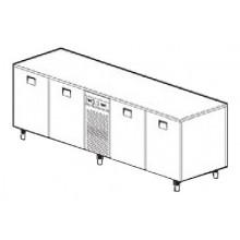 Bază refrigerare 4 uși, TBP/27